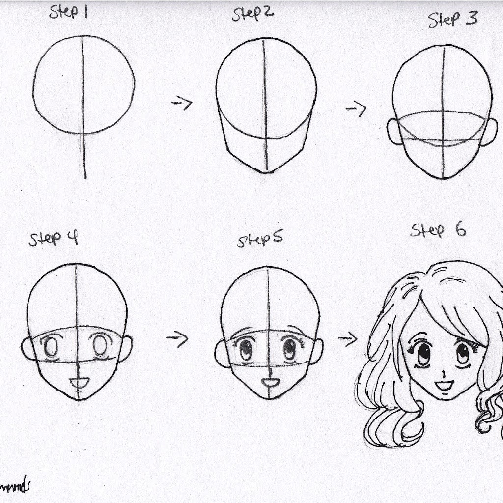 Anime Heads At Different Angles Drawing at GetDrawings ...