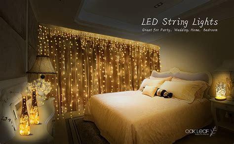 String Lights, Oak Leaf 6 Set of Micro 30 LEDs 9.8 Ft