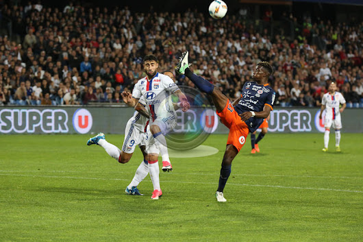 Shooting a football game in France – Montpellier (MHSC) vs Lyon (OL)