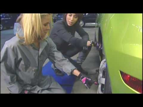 Regis Kelly Kelly Ripa Changes A Tire Youtube