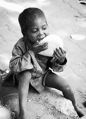 There is no humiliation more abusive than hunger. Pranab Mukherjee by firoze shakir photographerno1