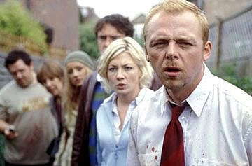 Cast of Shaun of the Dead