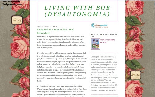 Living With Bob (Dysautonomia)