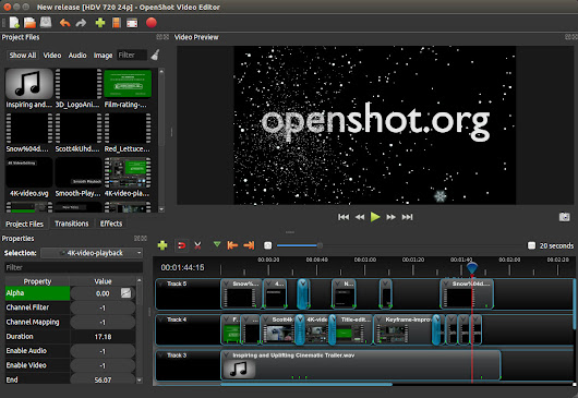 OpenShot 2.4.3 Released | Animated Masks, Nudge, Zoom Fixes, Improved Stability, and More!