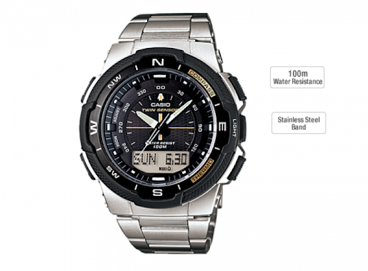 Tough Fashionable Sports Watches — Casio Outgear