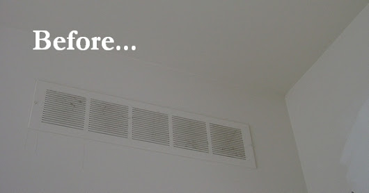 Before & After: Air Vent Cover Upgrade - The Joy of Moldings.com