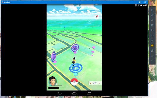 Play Pokemon Go on Leapdroid