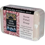 One With Nature Rose Petal Soap, One With Nature, Bathroom