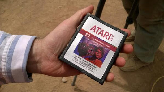 Microsoft finds buried Atari games in landfill - The Next Web