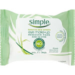 Simple Eye Make-Up Remover, Pads - 30 pads