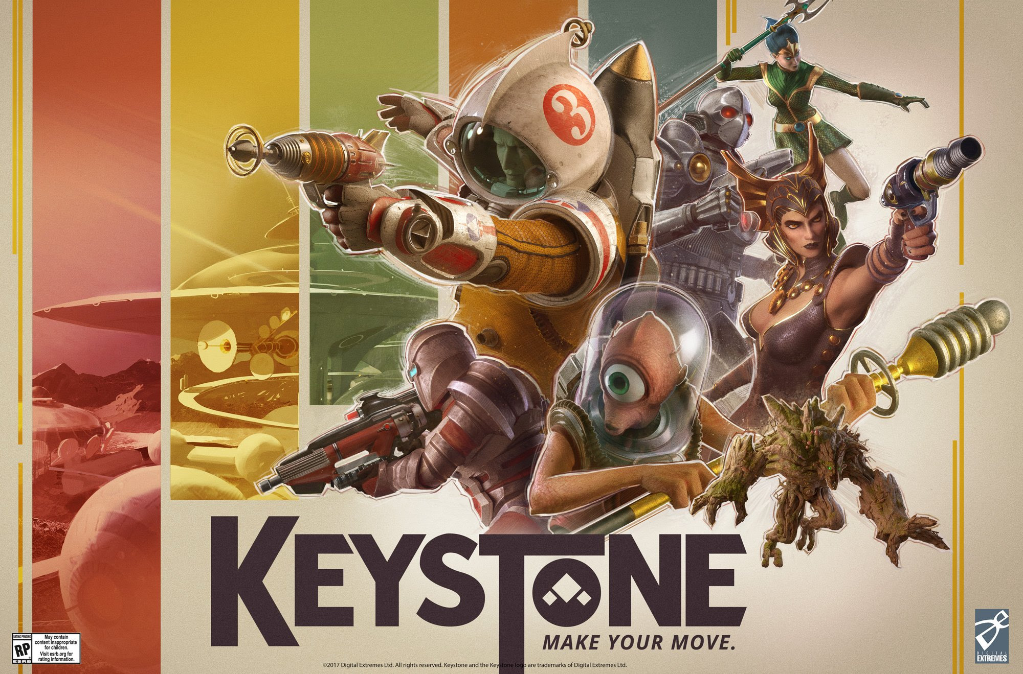 Keystone is a new F2P shooter from the Warfame developer screenshot