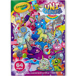 Crayola Coloring Book, Uni-Creatures!, 64 Pages + Sticker Sheet, 3+