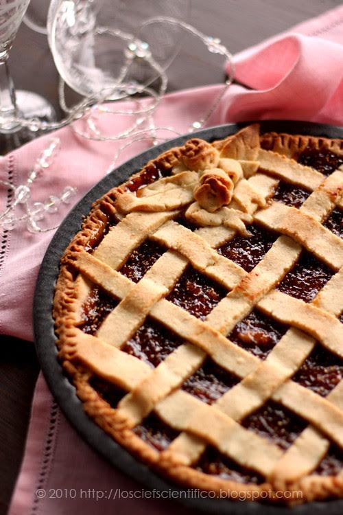 Fig, Walnut & Lemon Jam Tart