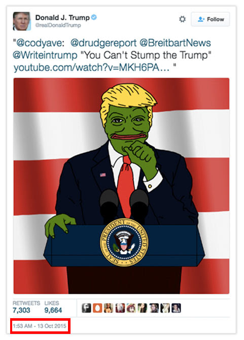 The Internet Wins – Clinton Campaign Exposes Pepe the White Supremacist