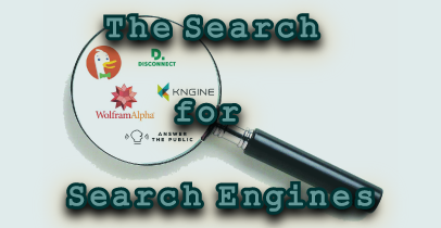 Search Engines for Privacy, Intelligence & Creativity