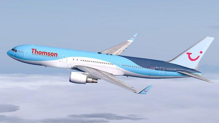 El avión deThomson Airways llevaba 189 pasajeros de Londres aSharm el Sheij