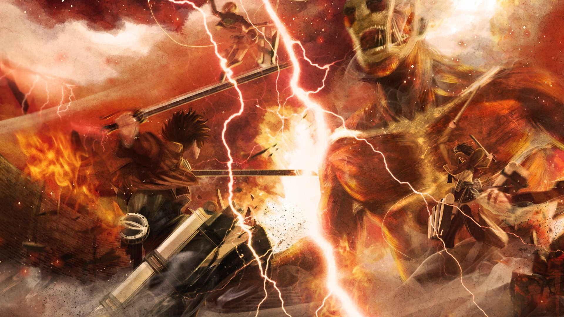 Animated Wallpaper Attack On Titan Nice