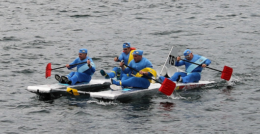 The Great Oban Raft Race - Press and Journal