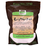 NOW Foods Erythritol | 2.5 lbs Package