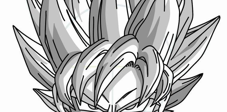 Drawing Draw Goku Super Saiyan Dragon Ball Z Pictures