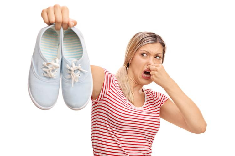 Image result for حذاء رائحة كريهة
