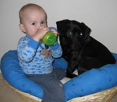 Hangin in Elliott's crib