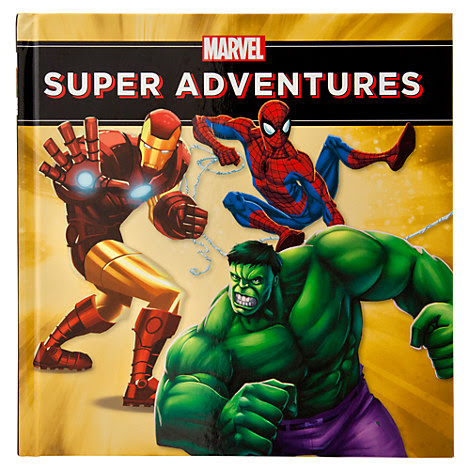 Marvel Super Adventures: Read-and-Play Storybook