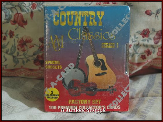 COUNTRY CLASSIC Music 1992 Trading Card Series 1 Set Of 100 Collect A Cards