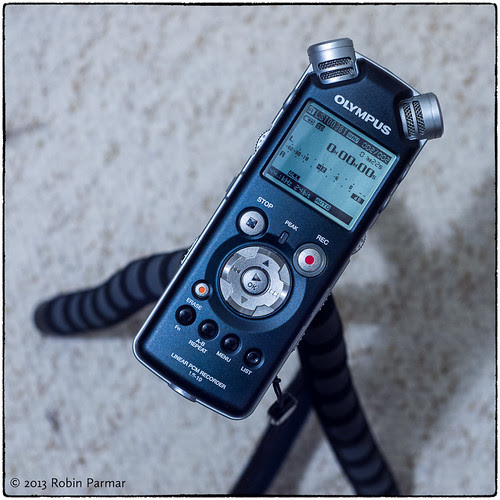 Olympus LS-10 digital recorder