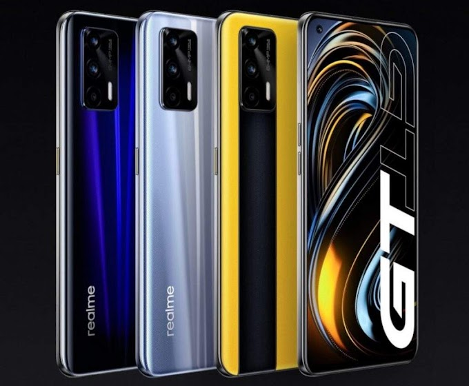 Realme GT 5G smartphone with Snapdragon 888 processor, 65W fast charging launched in China