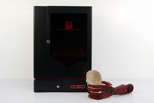 G3D launches Indiegogo crowdfunding campaign for sub $2,000 SLA 3D printer
