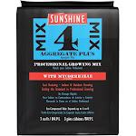SunGro SUGRMIX4MYCO Sunshine #4 Compressed Pro Growth Mix w/Mycorrhizae, 3 Cu Ft by VM Express