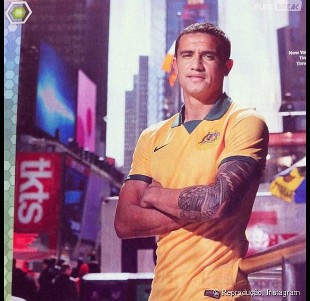 Tim Cahill é jogador da Austrália