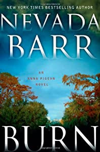 """Cover of """"Burn: An Anna Pigeon Novel (Ann..."""