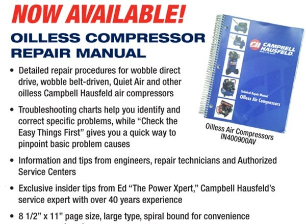 champion air compressor manual free