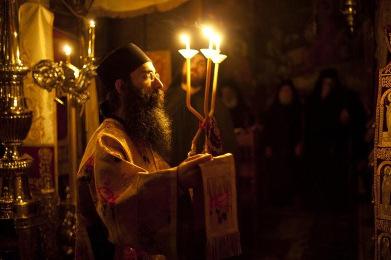 Orthodox deacon  Holy Mount Athos - Greece