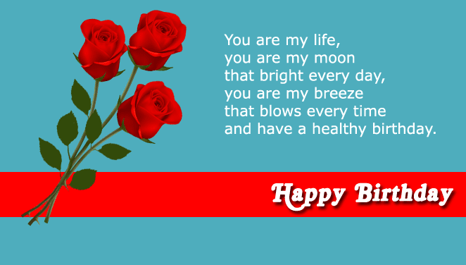 Romantic Birthday Wishes For Husband Birthday Quotes For Husband