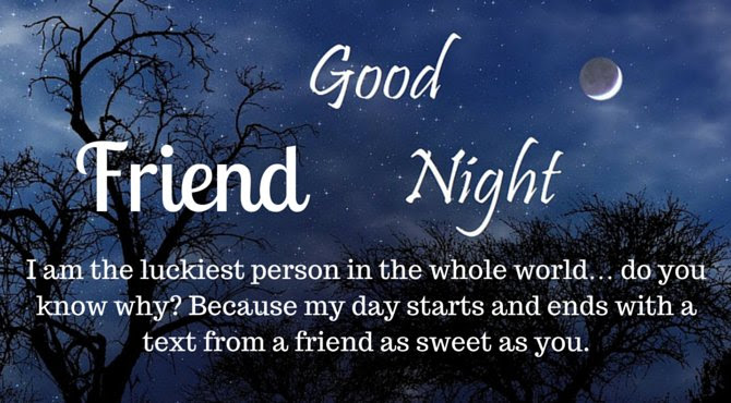 Good Night Friends Images Wishes And Messages
