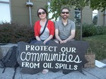 BP hearing in Bellingham. Protect our communities