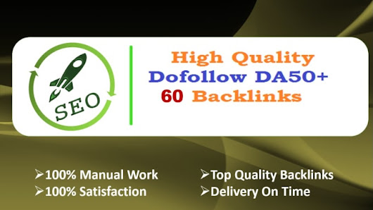musmank96 : I will do 60 backlinks da 50 plus dofollow blog comment links for $5 on www.fiverr.com