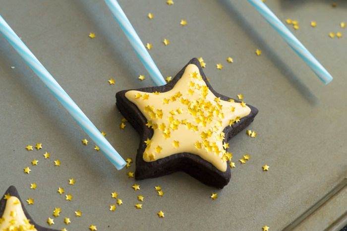 how to make Fairy Godmother Wand Cookies-on-a-Stick
