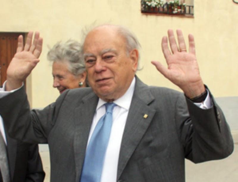 Jordi Pujol insta aquest diumenge a Puigverd d'Agramunt Foto:XAVIER LOZANO / ACN