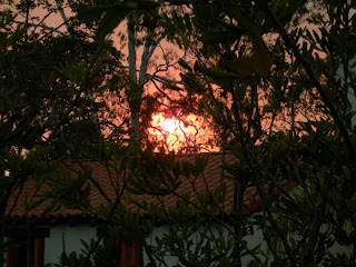 Il sole rosso
