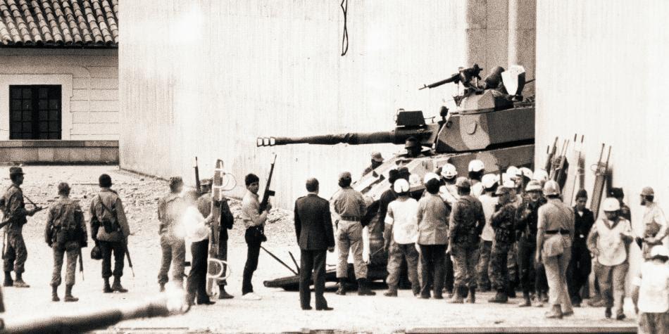 Toma del Palacio de Justicia, 1985