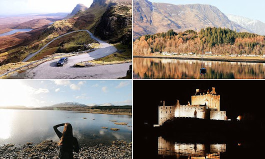 Influential Instagrammers capture Isle of Skye on incredible roadtrip