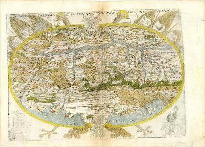map - Ducatus Carniolae