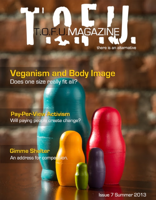 T.O.F.U. Magazine changing the world for more than just the animals