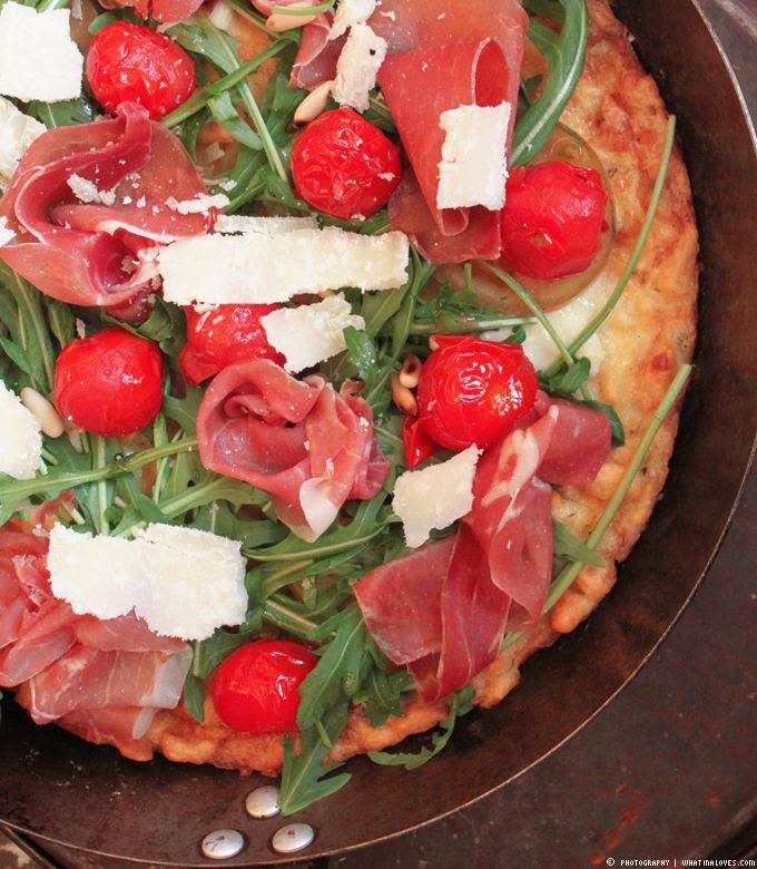 Birkel, Bloggerevent, Spätzle, Pizza, Nudelpizza, Serranoschinken