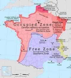 German occupied France