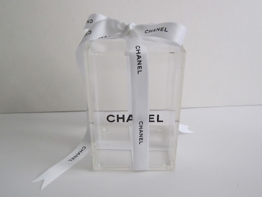 CHANEL Clear Vanity Box with Lid SALE $79.99